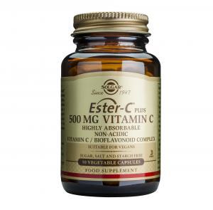 Естер-С Плюс 500 мг / Ester-C Plus 500 mg х50 растителни капсули – SOLGAR