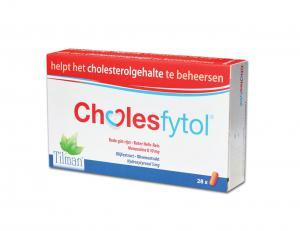 Холесфитол x 28 таблетки / Cholesfytol за поддържане здравословни нива на холестерола – Тilman