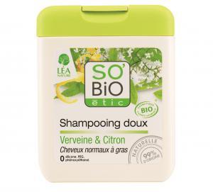 SOBiO etic Шампоан за Нормална към Мазна Коса с Върбинка и Лимон x250 мл