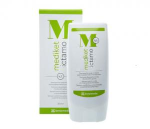 Mediket Ictamo shampoo for the care of problematic scalp / Медикет Иктамо шампоан за проблемен скалп -80 мл.- BENEMEDO