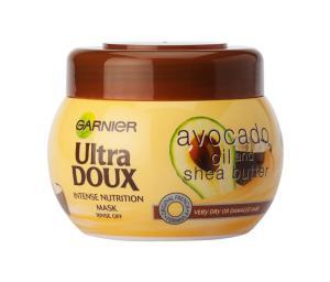 Garnier Ultra Doux Avocado Mask for dry and damaged hair / Гарниер Ултра Докс Маска за суха и увредена коса с масла от авокадо и ший-300мл.- L'Oreal