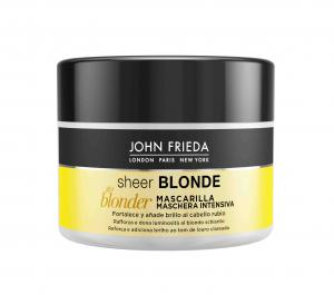JOHN FRIEDA Sheer Blonde Изсветляваща Маска за Руса Коса x150 мл