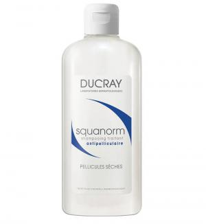 Ducray Squanorm Третиращ шампоан против сух пърхот х200 мл