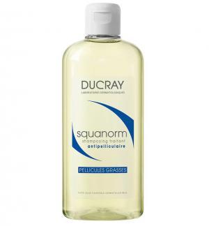 Ducray Squanorm Третиращ шампоан против мазен пърхот х200 мл