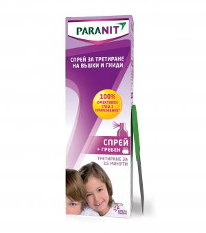 Паранит Спрей против Въшки / Paranit anti-lice spray х100 мл – You Medical