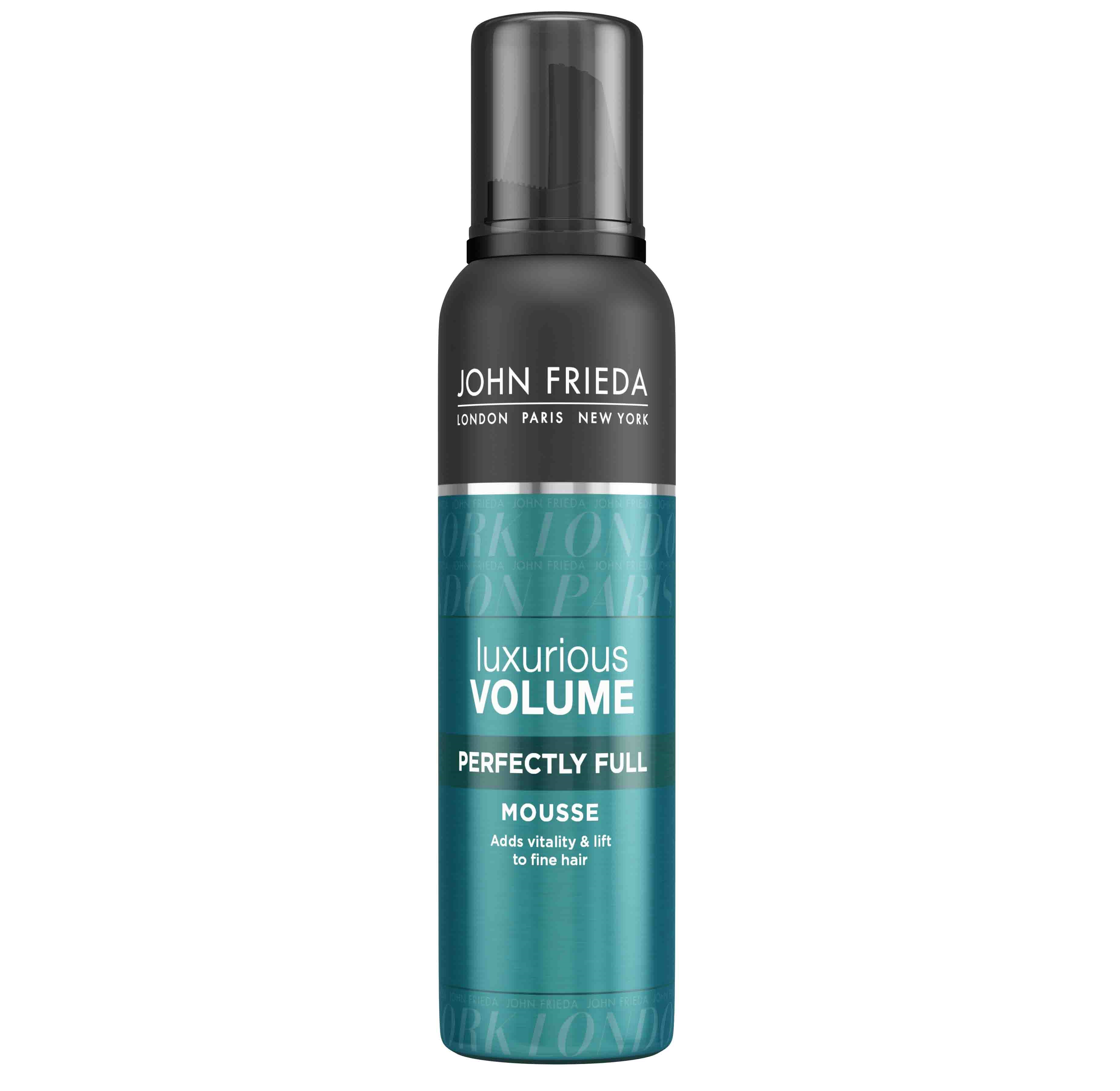 Описание наJOHN FRIEDA Luxurious Volume Пяна за Поддържане на Обема x200 мл:   Този продукт на популярната марка Джон Фрида е пяна за обем от серияLuxurious Volume, подходяща грижаза коса, която се нуждае от обем и плътност.Пяната съдържа мощна ревитализиращаформула с Кофеинов комплекс, койтоенергизира, омекотява и дарява с жизненост Вашата коса.Предлага се в удобна опаковка от 200 мл.    Състав наJOHN FRIEDA Luxurious Volume Пяна за Поддържане на Обема x200 мл: