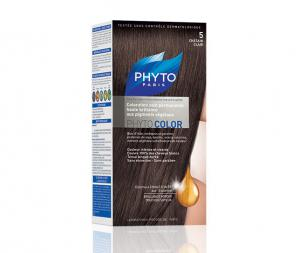 PHYTO PHYTOCOLOR 5 LIGHT CHESTNUT Боя за Коса №5 Светъл Кестен