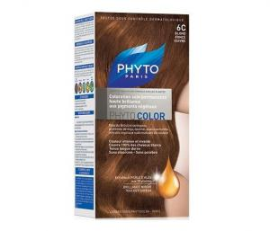 PHYTO PHYTOCOLOR 6C COPPER DARK BLOND Боя за Коса №6С Тъмно Медно Русо