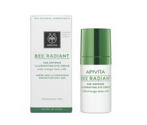 APIVITA Bee Radiant Age Defense Illuminating Eye Cream / АПИВИТА Бии Радиант Озаряващ околоочен крем 15мл.