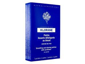 Klorane Bleuet Успокояващи компреси за очи с екстракт от синя метличина 7 броя x2 мл