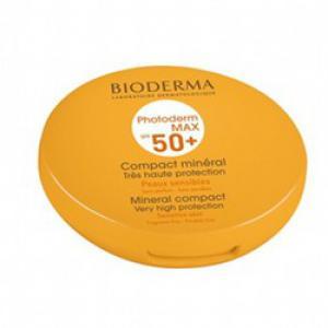 Биодерма Фотодерм Макс Компакт пудра за защита от слънцето SPF 50+, нюанс – светъл / Bioderma Photoderm MAX Compact Mineral SPF 50+ Light x 10 гр.