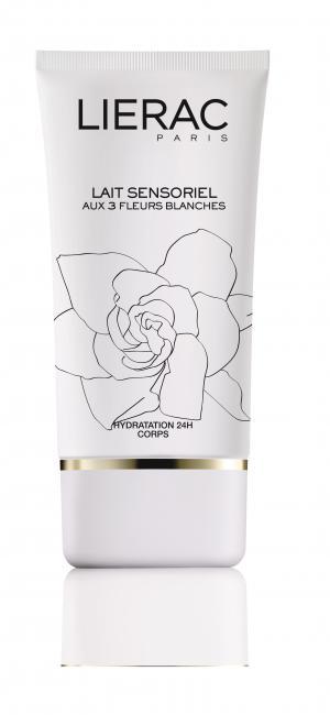 LIERAC Sensoriel Aux 3 Fleurs Blanches Лосион за Тяло х150 мл