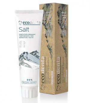 ECODENTA COSMOS БИО сертифицирана паста за зъби за чувствителни зъби и венци x100 мл