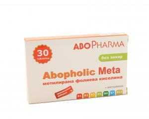 Абофолик Мета / Abopholic Meta таблетки х30 – Abopharma