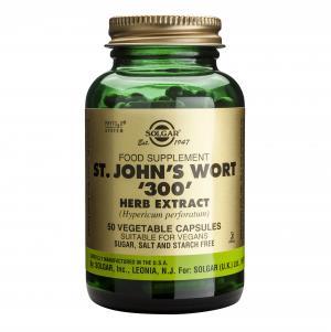 Екстракт от Жълт Кантарион / St. John's Wort Herb Extract 300 mg х50 растителни капсули – SOLGAR