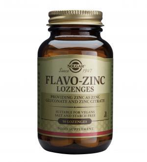 Флаво Цинк / Flavo Zinc х50 таблетки за смучене – SOLGAR