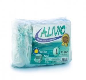 Alivio Diapers Pants / Аливио Пелени-Гащи за Възрастни L Дневни 80-100 кг x10 броя – Euroactive