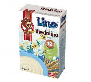 ЛИНО Медолино детска зърнена закуска / Lino Medolino х 200гр – Podravka