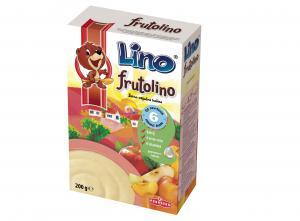 Лино Фрутолино Инстантен зърнен, плодов и млечен флейкс с витамини / Lino Frutolino 200г – Podravka