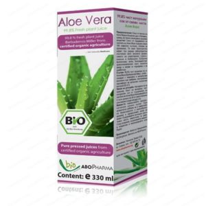 Био Сок от Алое Вера / Aloe Vera Bio Juice 99,8% x330 мл – AboPharma
