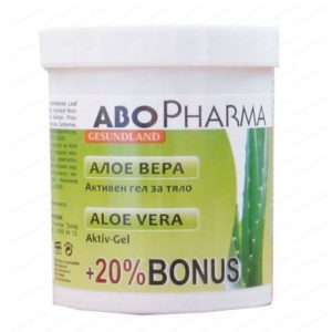 Алое Вера Активен масажен гел за тяло / Aloe Vera Active Body Massage Gel х125 мл – Abopharma