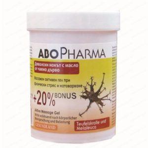 Активен Масажен гел от Дяволски нокът / Active Massage gel from Devil's Claw 125 мл – AboPharma