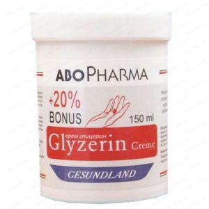 Глицеринов крем със Слънчогледово масло / Glycerin Cream with Sunflower oil х125мл – Abopharma