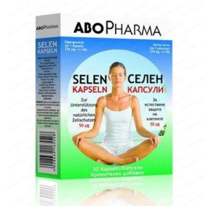 Селен / Selen 50мкг х30 капсули – Abopharma