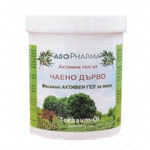 Активен масажен гел за тяло с чаено дърво / Body Active Massage Gel with Tea Tree х125мл – Abopharma