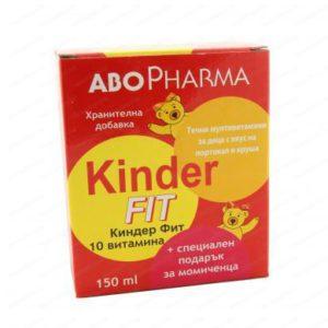Киндер Фит Течни Мултивитамини за момичета / Kinder Fit Multivitamins for girls 150 мл – AboPharma
