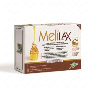 Melilax / Мелилакс Микроклизма за възрастни при запек 10 грама х6 броя – Aboca