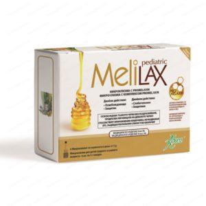 Melilax Pediatric / Мелилакс Педиатрик микроклизма за деца и кърмачета при запек 10 грама х6 броя – Aboca