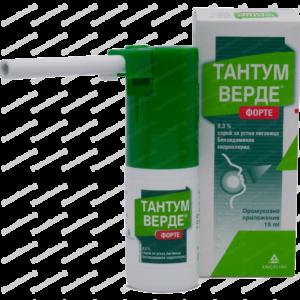 Тантум Верде Форте Спрей при Простуда и Грип x15мл