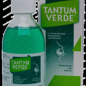 Тантум Верде Промивка за Уста при Възпалено Гърло x240мл
