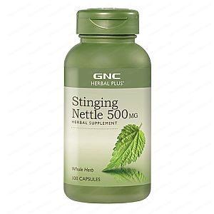 Stinging Nettle / Коприва Лист 500мг х100 капсули – GNC