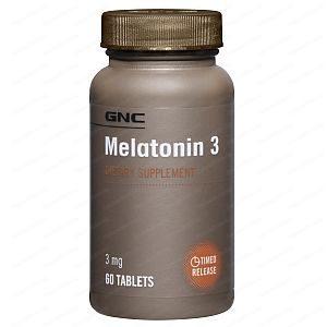 Melatonin Retard / Мелатонин Ретард при безсъние 3мг х60 таблетки с удължено освобождаване – GNC