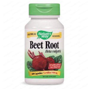 Beet Root / Червено Цвекло Корен за детоксикация и пречистване 500мг х100 капсули – Nature's Way