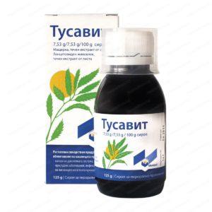 Tussavit Syrup / Тусавит Сироп за кашлица х125 мл – Montavit