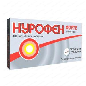 Nurofen Forte / Нурофен Форте облекчава болката 400мг х12 таблетки – Reckitt Benckiser Healthcare