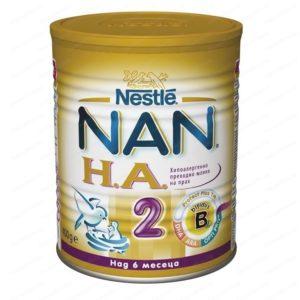 НАН НА2 Адаптирано Мляко х400гр – Nestle