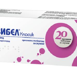 Анзибел Класик / Anzibel Classic х20 таблетки за смучене – Nobel Pharma