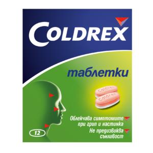 КОЛДРЕКС / COLDREX  тaб. х 12- GlaxoSmithKline