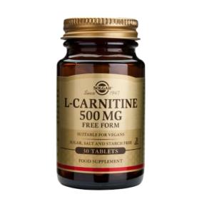 Л-Карнитин 500мг х30 таблетки – SOLGAR