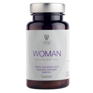 УОМАН / WOMAN х60 растителни капсули – Vital Concept