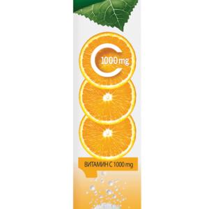 Витамин С 1000 мг / Vitamin C 1000 mg х24 разтворими таблетки – Power of Nature