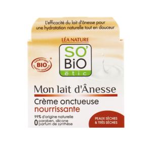 SOBiO etic Mon Lait dAnesse Обогатен Подхранващ Крем с Магарешко мляко x50 мл