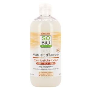 SOBiO etic Mon Lait dAnesse Млечна Мицеларна Вода с Магарешко Мляко x500 мл