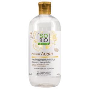 SOBiO etic Precieux Argan Мицеларен Лосион с Арган x500 мл