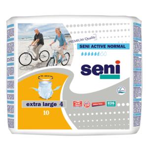 Сени Актив Нормал Абсорбиращи Гащи XL / Seni Active Normal XL х10 броя