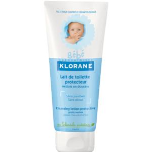 Klorane Bebe Защитно тоалетно мляко с екстракт от невен x200 мл